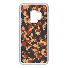 Aged Red, White, And Blue Camo Samsung Galaxy S9 Seamless Case(white) by McCallaCoultureArmyShop