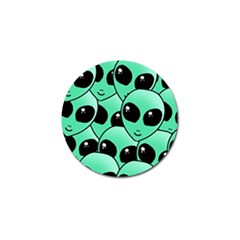Alien Golf Ball Marker (10 Pack) by Sapixe