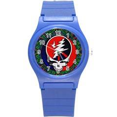 Grateful Dead Round Plastic Sport Watch (s) by Sapixe
