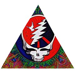 Grateful Dead Wooden Puzzle Triangle