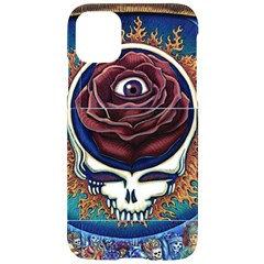 Grateful Dead Ahead Of Their Time Iphone 11 Black Uv Print Case by Sapixe