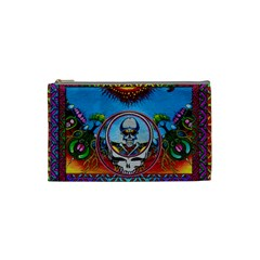 Grateful Dead Wallpapers Cosmetic Bag (small) by Sapixe