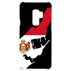 Monaco Country Europe Flag Borders Samsung S9 Plus Black Uv Print Case by Sapixe