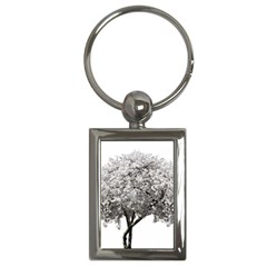 Nature Tree Blossom Bloom Cherry Key Chain (rectangle)