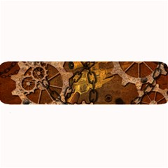 Steampunk Patter With Gears Large Bar Mats by FantasyWorld7