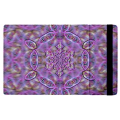 Skyscape In Rainbows And A Flower Star So Bright Apple Ipad Mini 4 Flip Case by pepitasart