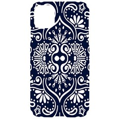 Mandala Pattern Iphone 11 Black Uv Print Case by designsbymallika