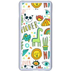 Traveller Explorer Samsung Galaxy S10 Plus Seamless Case(white) by designsbymallika