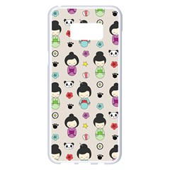 Russian Doll Samsung Galaxy S8 Plus White Seamless Case