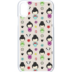 Russian Doll Iphone X Seamless Case (white)