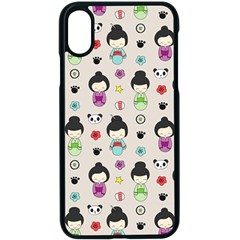 Russian Doll Iphone Xs Seamless Case (black)