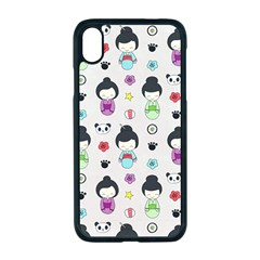 Russian Doll Iphone Xr Seamless Case (black)