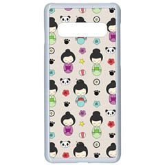 Russian Doll Samsung Galaxy S10 Seamless Case(white)