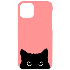 Sneaky Cat Iphone 11 Pro Black Uv Print Case by goljakoff