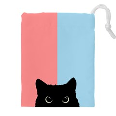 Sneaky Cat Drawstring Pouch (4xl)