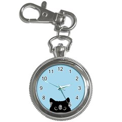 Sneaky Kitty Key Chain Watches