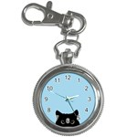 Sneaky kitty Key Chain Watches Front