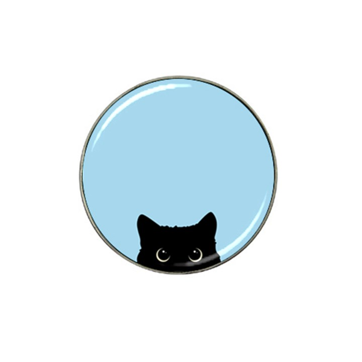 Sneaky kitty Hat Clip Ball Marker (4 pack)