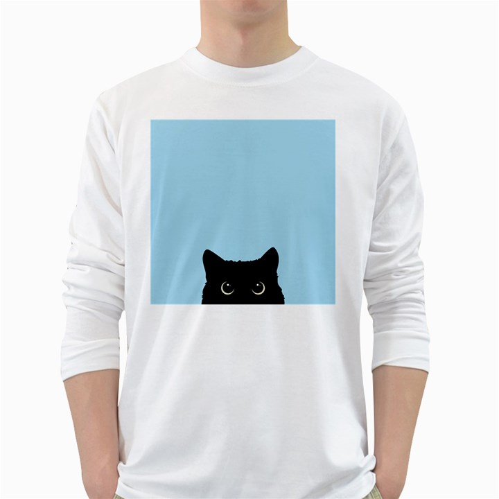 Sneaky kitty Long Sleeve T-Shirt