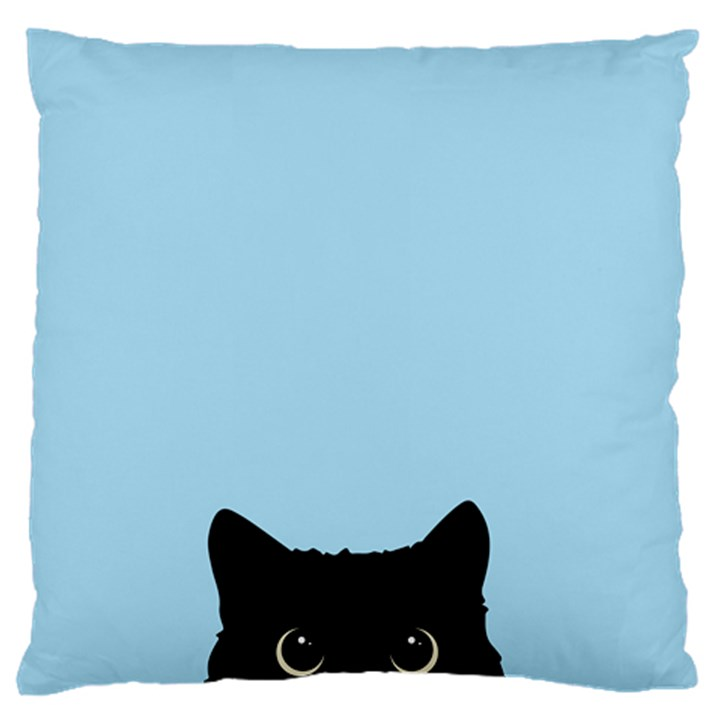 Sneaky kitty Standard Flano Cushion Case (Two Sides)