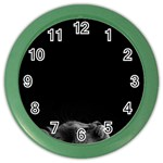 Who is there? Color Wall Clock Front