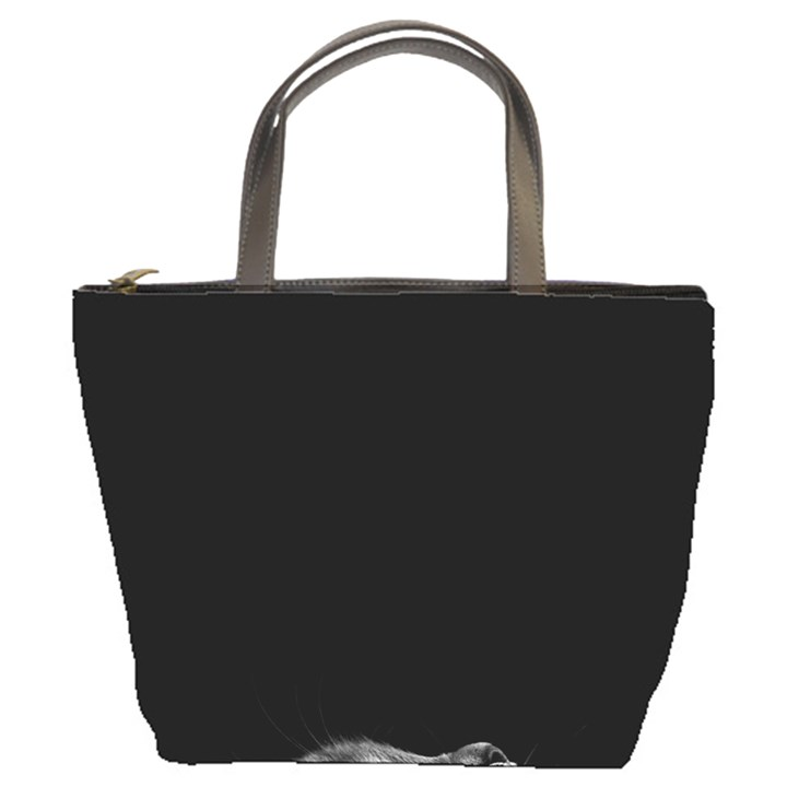 Who is there? Bucket Bag