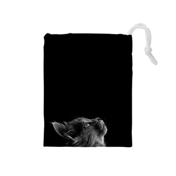 Who is there? Drawstring Pouch (Medium)
