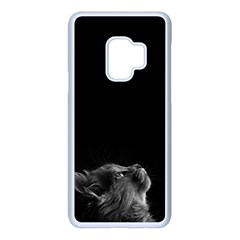 Who Is There? Samsung Galaxy S9 Seamless Case(white)