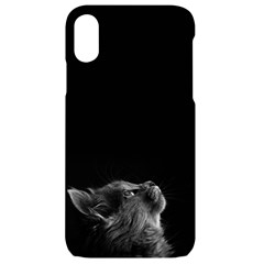 Who Is There? Iphone Xr Black Uv Print Case