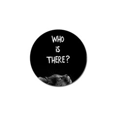 Who Is There? Golf Ball Marker (10 Pack)