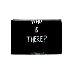 Who Is There? Cosmetic Bag (medium)