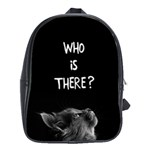 Who is there? School Bag (XL) Front