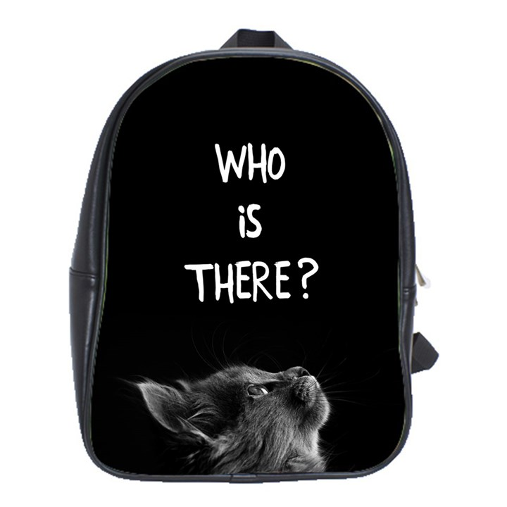 Who is there? School Bag (XL)