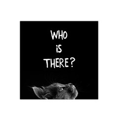 Who Is There? Satin Bandana Scarf
