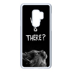 Who Is There? Samsung Galaxy S9 Plus Seamless Case(white)