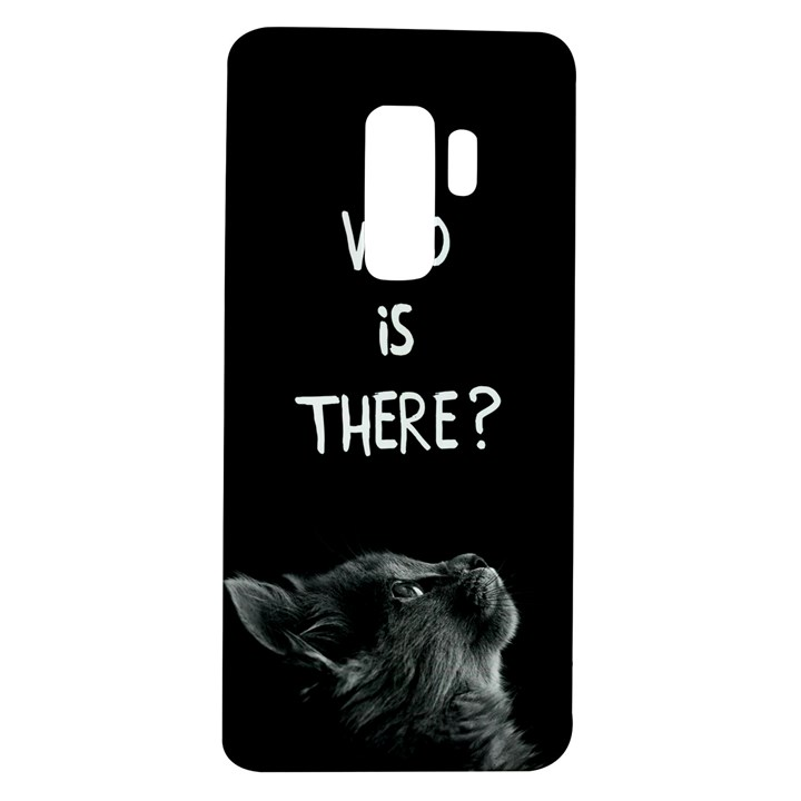 Who is there? Samsung Galaxy S9 Plus TPU UV Case