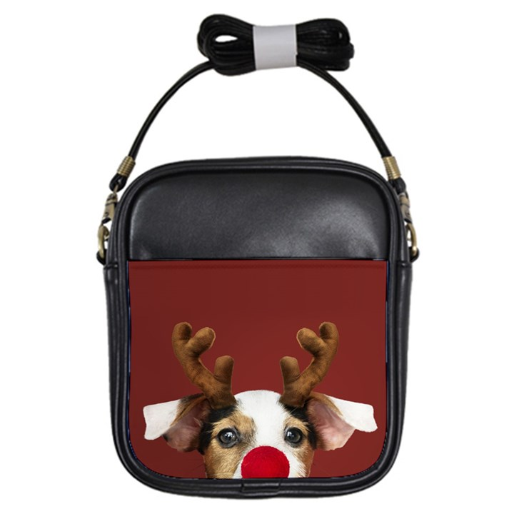 Christmass deer Girls Sling Bag