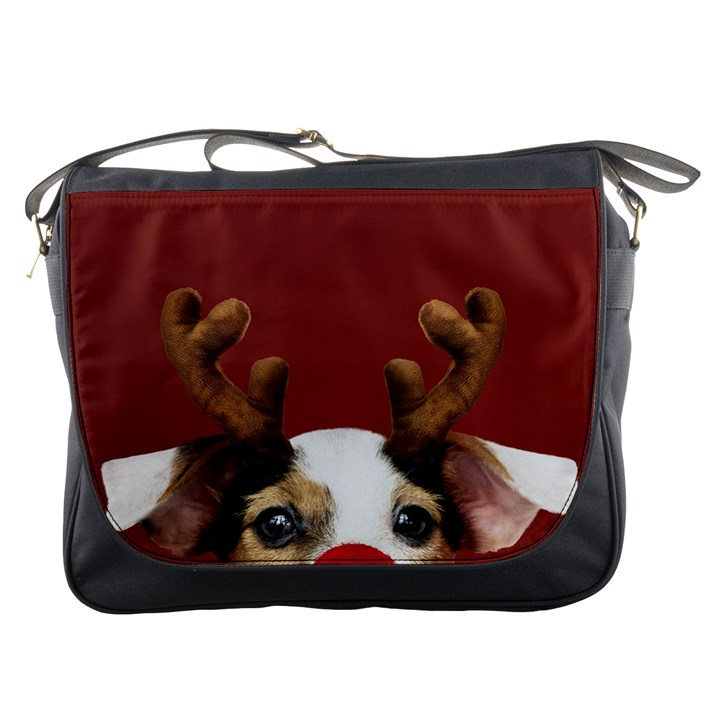 Christmass deer Messenger Bag