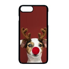Christmass Deer Iphone 8 Plus Seamless Case (black)