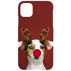 Christmass Deer Iphone 11 Black Uv Print Case