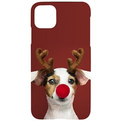 Christmass Deer Iphone 11 Pro Max Black Uv Print Case