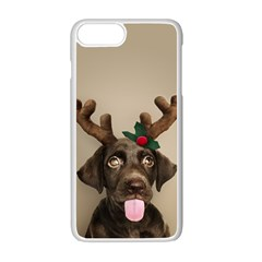 Christmas Dog Iphone 7 Plus Seamless Case (white)