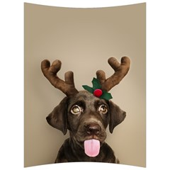 Christmas Dog Back Support Cushion