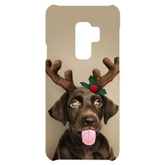 Christmas Dog Samsung S9 Plus Black Uv Print Case