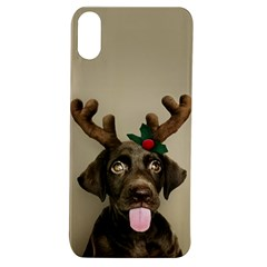 Christmas Dog Apple Iphone Xs Tpu Uv Case