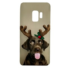 Christmas Dog Samsung Galaxy S9 Tpu Uv Case