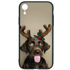 Christmas Dog Iphone Xr Soft Bumper Uv Case