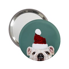 Santa Dog 2 25  Handbag Mirrors