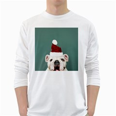 Santa Dog Long Sleeve T Shirt
