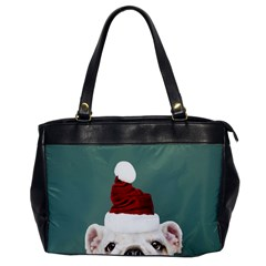 Santa Dog Oversize Office Handbag